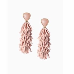 Stella & Dot Jewelry - stella & dot ~ riva tassel earrings blush